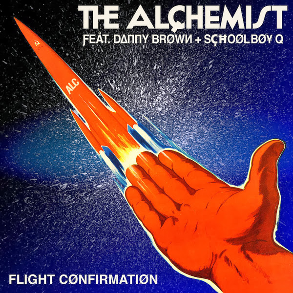 The Alchemist - Flight Confirmation (feat. Danny Brown, Schoolboy Q) - Single  Cover