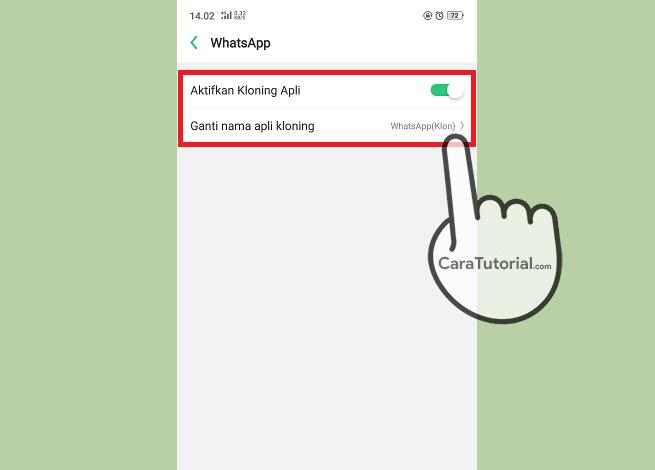 Cara Menggandakan Aplikasi (Clone Apps) di HP OPPO