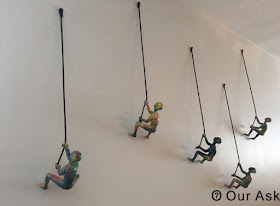 Climbing Sculpture Wall Art