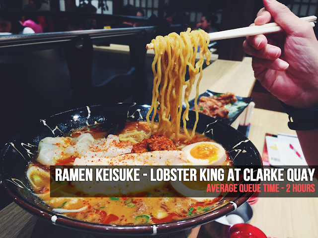 Ramen Keisuke - Lobster King at Clarke Quay