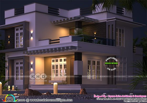 modern house 1500 square feet