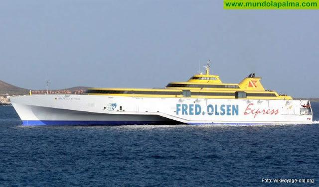 Fred. Olsen programa a partir del 11 de agosto dos conexiones directas diarias entre La Palma y Tenerife para su temporada estival