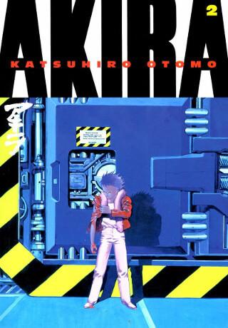 Cover of Akira Volume 2 Manga