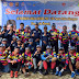 Kapolres Banyuasin Bersama Bupati Banyuasin Sambut Peserta Gowes De Tour Sabang - Jakarta 300K Indonesia Sehat