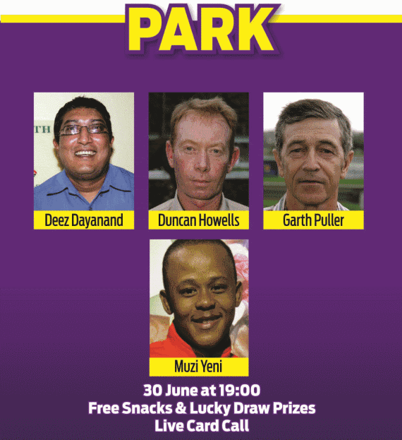 Hollywoodbets Durban July Pre-Party 2016 - Springfield Park Panel - Deez Dayanand, Duncan Howells, Garth Puller, Muzi Yeni