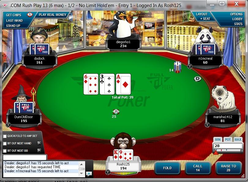 Ftp Full Tilt Poker Points