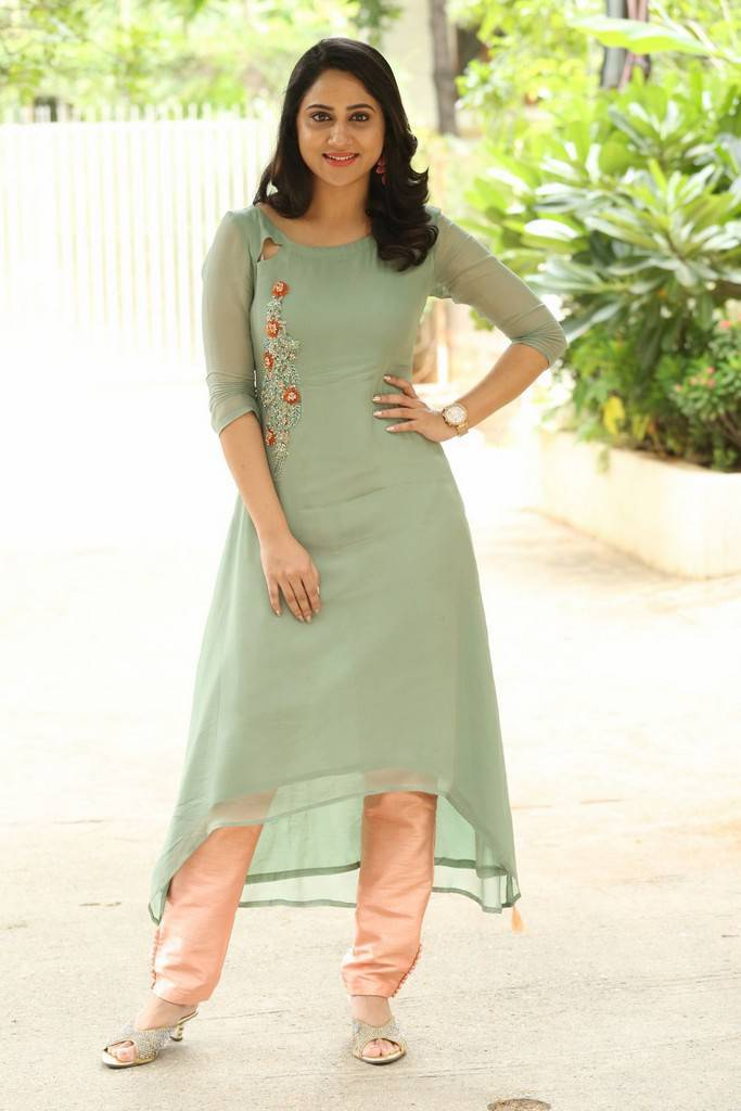 Miya George Photos At Ungarala Rambabu Movie Interview