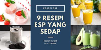 9 Resepi ESP Yang Sedap