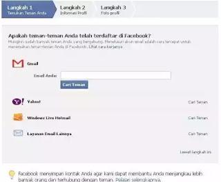 niscaya punya alasan tersendiri mengapa mereka  Daftar Facebook : Cara Membuat Akun Facebook Baru Hanya Dalam Waktu 5 Menit