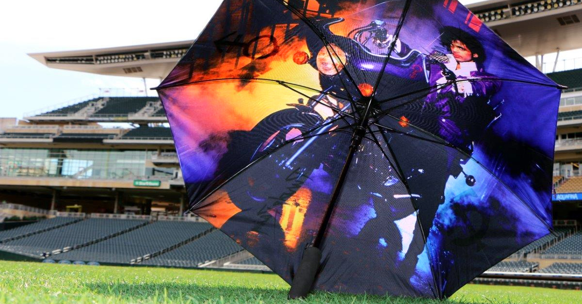 Minnesota Twins Purple Rain Umbrella