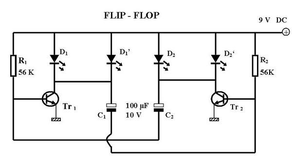 Blog Sugiman Alkaromah Mempercepat Kedipan Lampu Flipflop