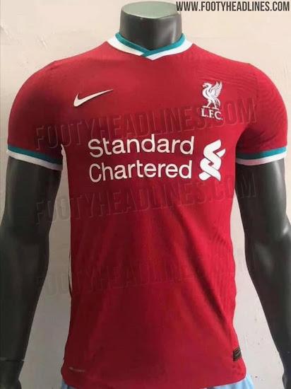 Nike Liverpool 20-21 Home Kit Leaked - Render - Footy Headlines