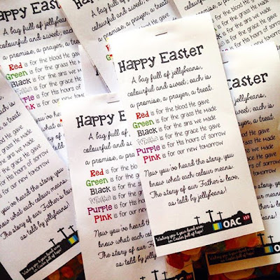 Easter Egg Jellybean Poem Gift Idea - Cheap Easter Gift Ideas for Christians