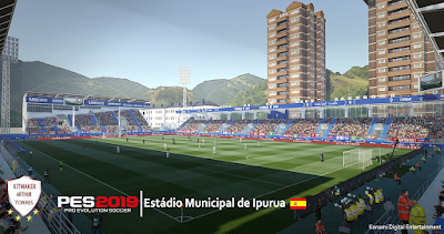PES 2019 Stadium Estádio Municipal de Ipurua by Arthur Torres