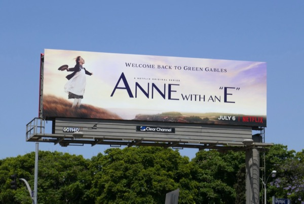 Anne with an E season 2 billboard