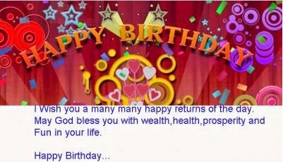 Wish Birthday SMS