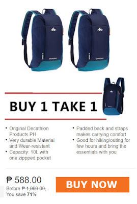 Decathlon Backpack