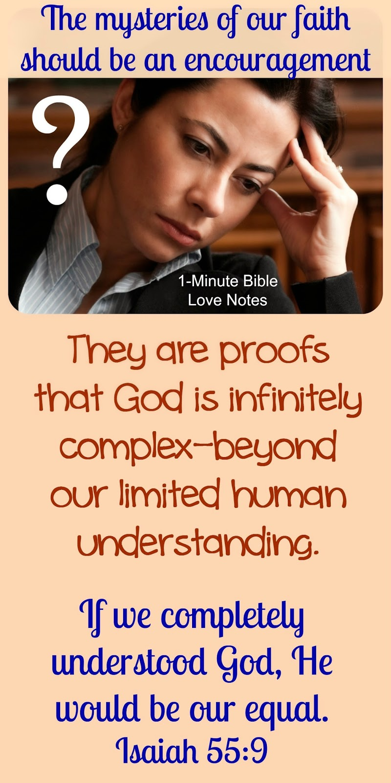 Romans 11:33, mysteries of God, God cannot be fully understood