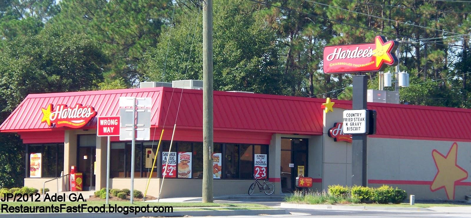 Hardee S Adel Georgia W 4th St Hamburger Fast Food Restaurant Cook County Ga