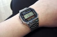 Casio A168WA-1YES - al polso