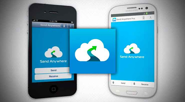 Cómo transferir archivos entre dispositivos Android y iPhone con Send Anywhere
