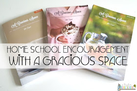 home school encouragement with a Gracious Space - review from a muslim home school