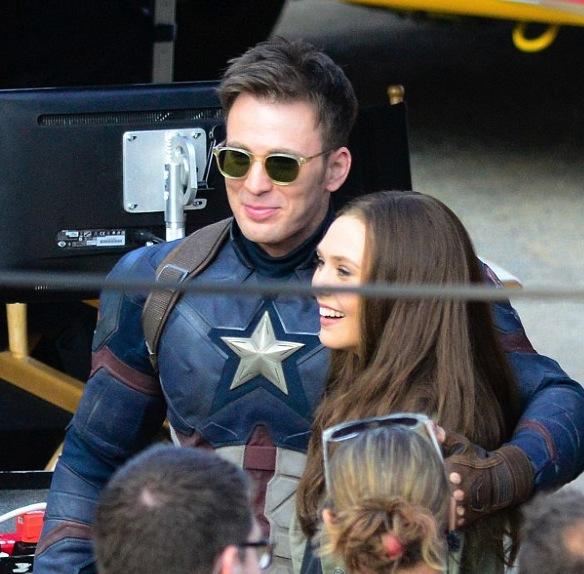Elizabeth Olsen, Si Penakluk Captain America!