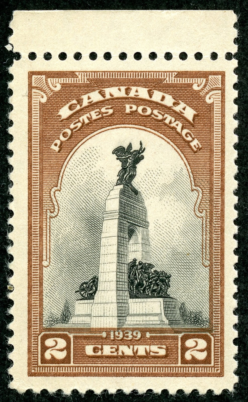 George Town Stamp To Be Distributed All Over The World North View 1934 Ascension Island