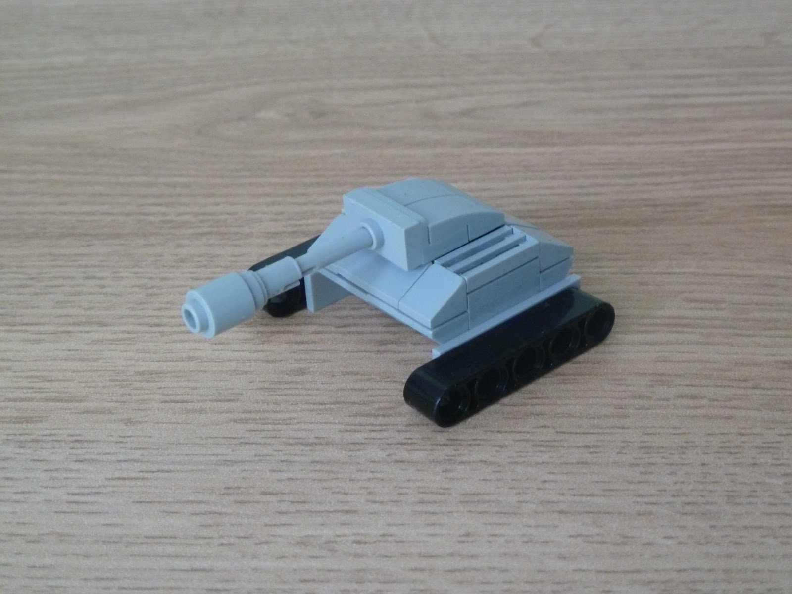 Totobricks Lego How To Build A Mini Tank Moc Micro Build Instructions