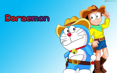 Doraemon dan nobita wallpaper