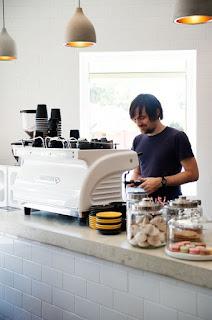 máquina de cafe expresso de bomba