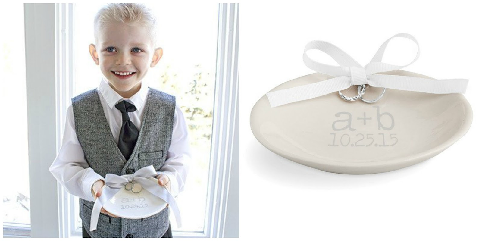 Fake Wedding Bands For Ring Bearer 7 Nice  day for the