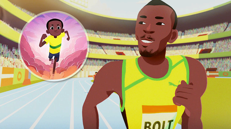 Usain Bolt, The Boy Who Learned to Fly - World's Fastest Man