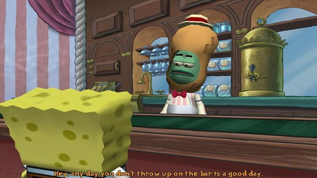 Download SpongeBob Squarepants Movie PC Games Gameplay