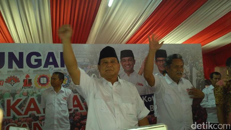 Tegas! Prabowo: Membela Hak Rakyat Tidak Bisa Disebut Makar