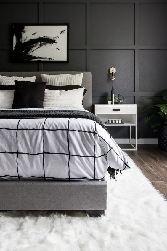 THIS MONOCHROME BEDROOM REVEAL IS INCREDIBLE!