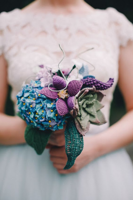 Crochet Bridal Bouquets