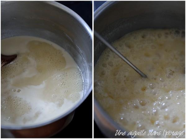 cuisson du caramel mou