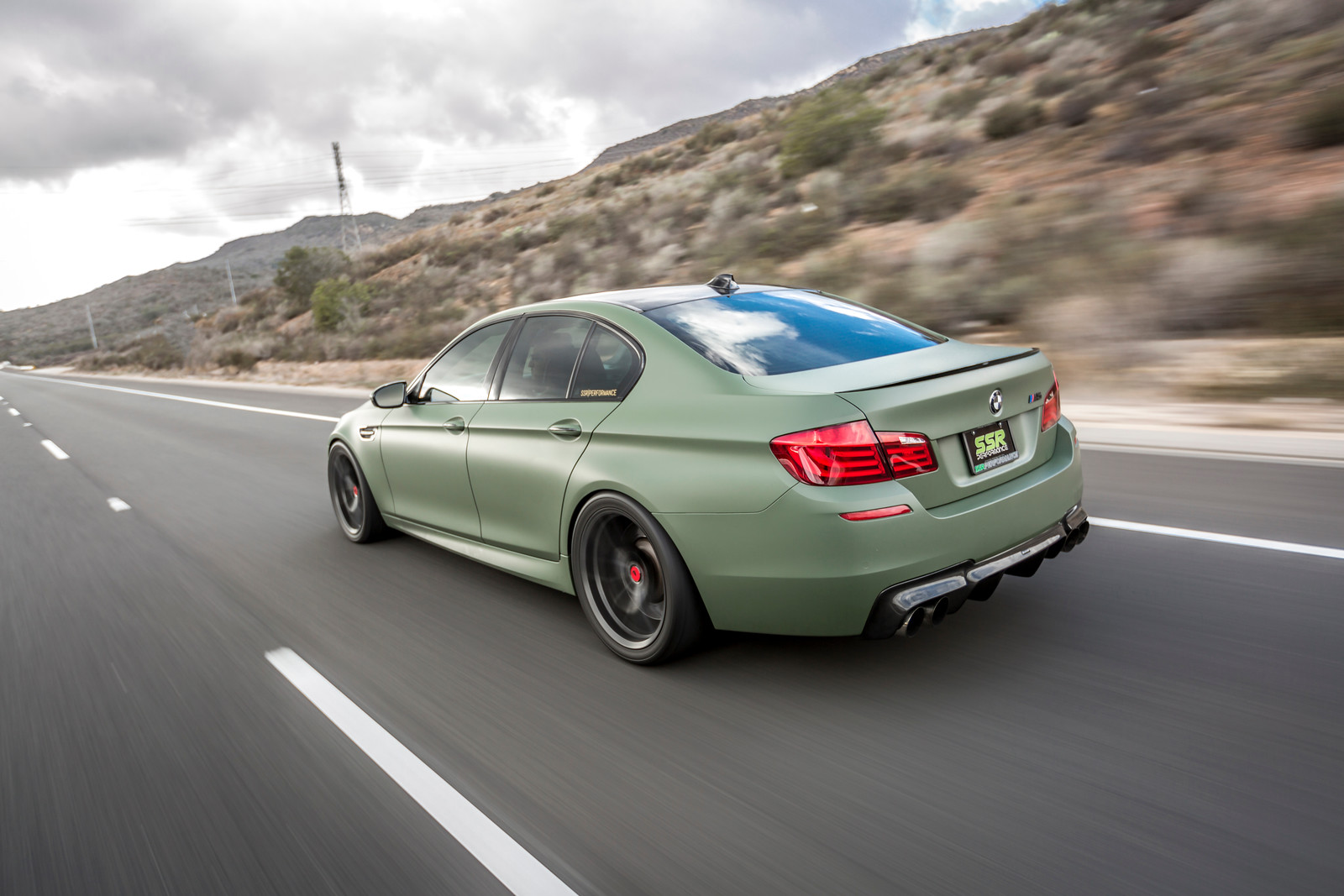 If Anything, A Matte Military Green BMW M5 Is Certainly Different |  Carscoops