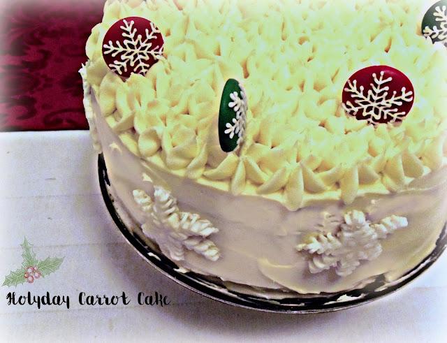 carrot cake con chocolate blanco