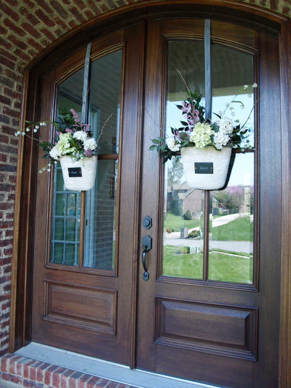 Front Door Flower Basket How To Less Than Perfect Life