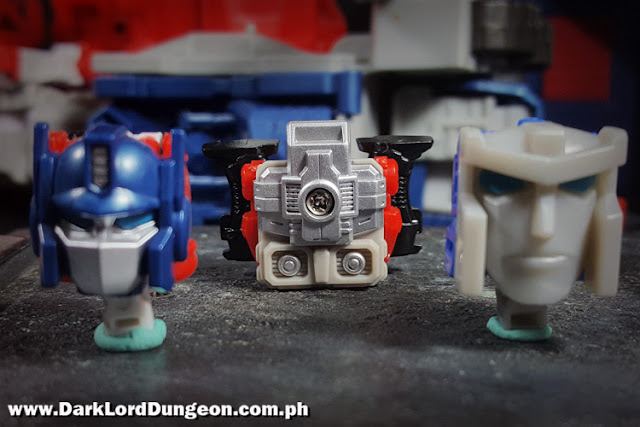 LG35 Ginrai, PC15 Ginrai and Godbomber Headmasters