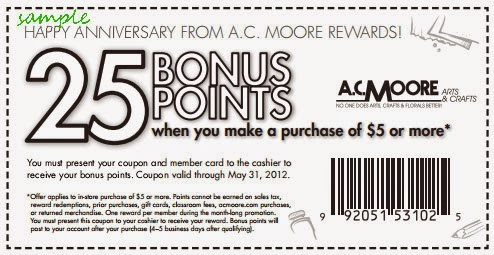 Printable coupon for ac moore arts and crafts / Portland