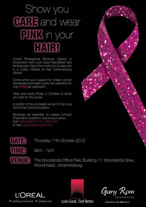 Show you care and wear pink in your hair! – Jozilicious ...