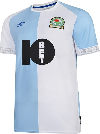 32df6d4d33c48 Umbro apresenta as novas camisas do Blackburn Rovers - Show de Camisas