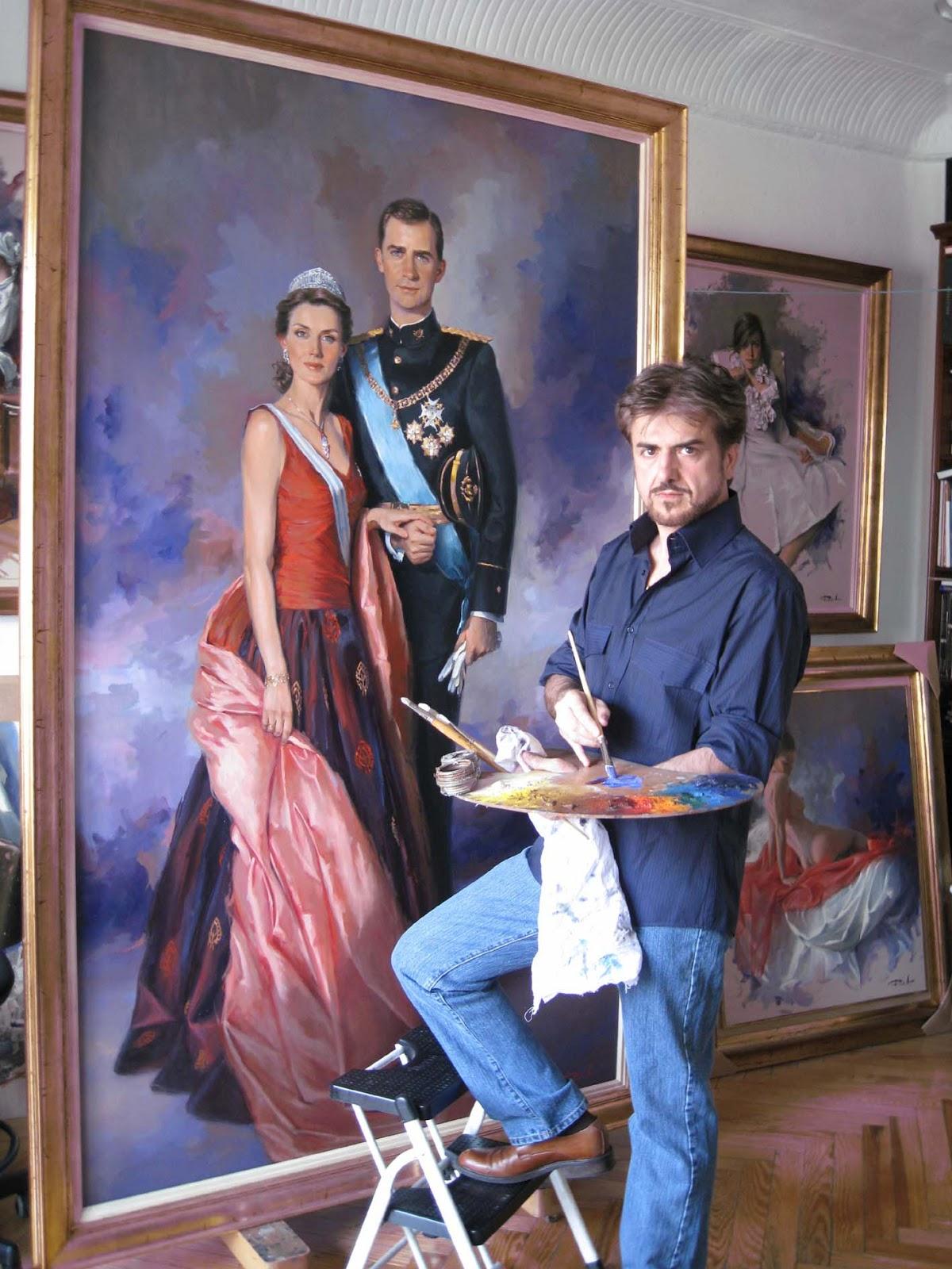 Ricardo  Sanz  Prince  and  Princess  of  Asturias