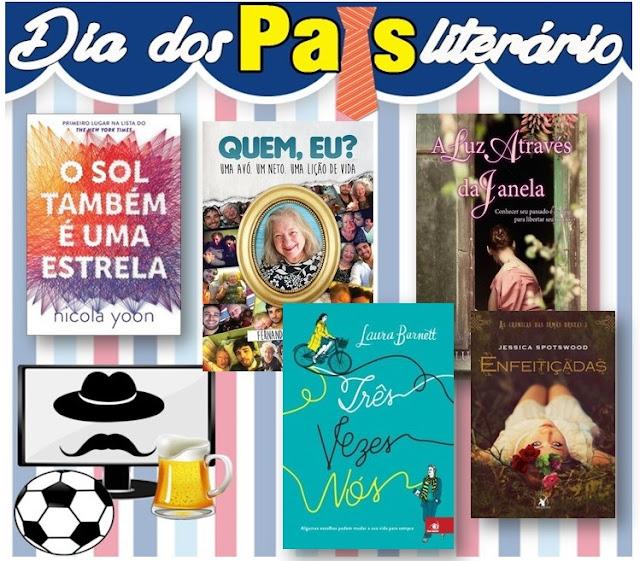 kit3 Promoção | Dia dos pais literário