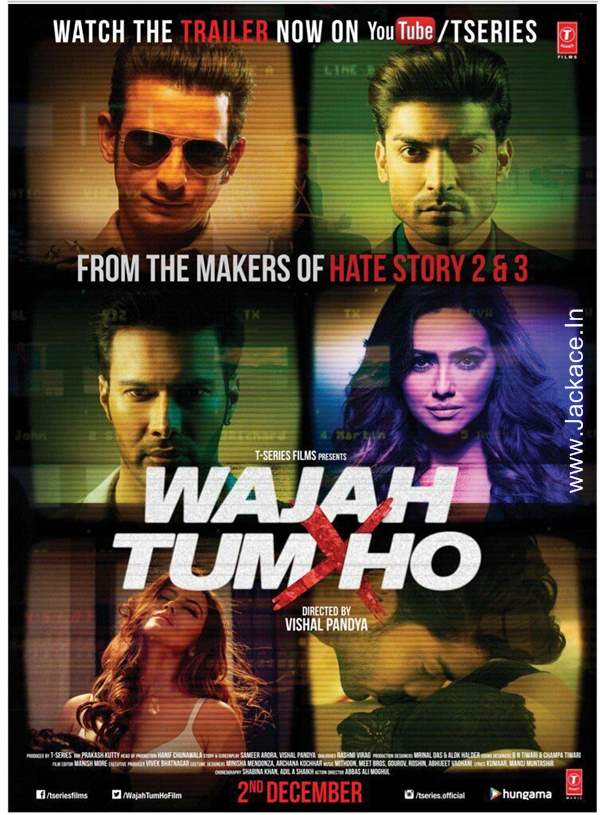 Watch Online Wajah Tum Ho (2016) Hindi Movie Download In HD 720P