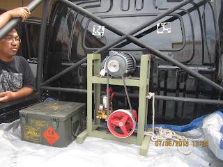 Alat service AC (Pompa Air)