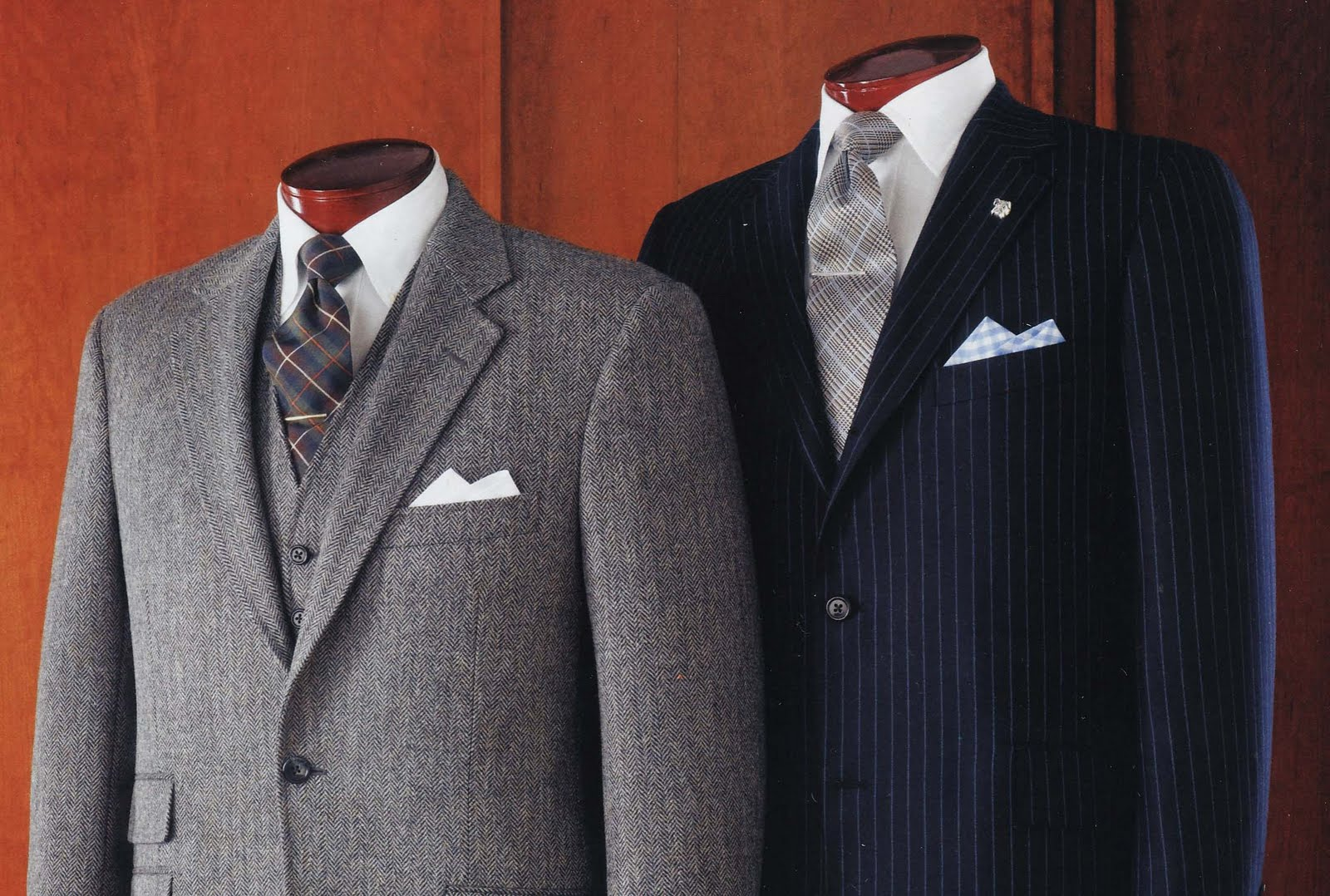 5dbef05c78b Chester Barrie suit. J. Press Tweed ...